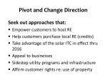 pivot and change direction