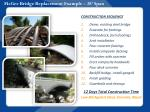 mcgee bridge replacement example 28 span