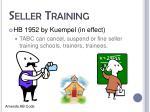 seller training1