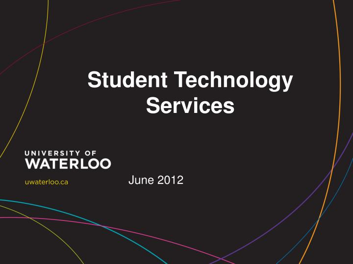 student technology services n.