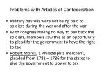 problems with articles of confederation1