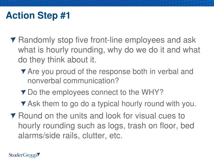 Action Step #1