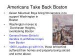 americans take back boston
