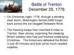 battle of trenton december 25 1776