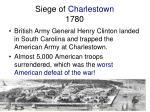 siege of charlestown 1780