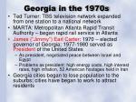 georgia in the 1970s