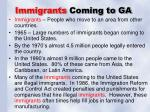immigrants coming to ga