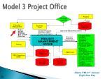 model 3 project office