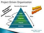 project driven organization
