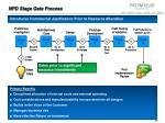 npd stage gate process