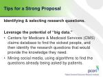 tips for a strong proposal1