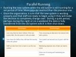 parallel running1