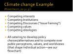 climate change example rosenbaum pp 32 37