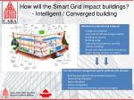 how will the smart grid impact buildings intelligent converged building