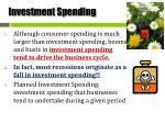 investment spending1