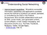 understanding social networking