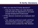 e verify decisions1