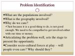 problem identification1