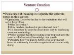 venture creation1