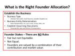 what is the right founder allocation1