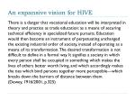 an expansive vision for hive