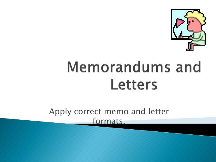 memorandums and letters n.