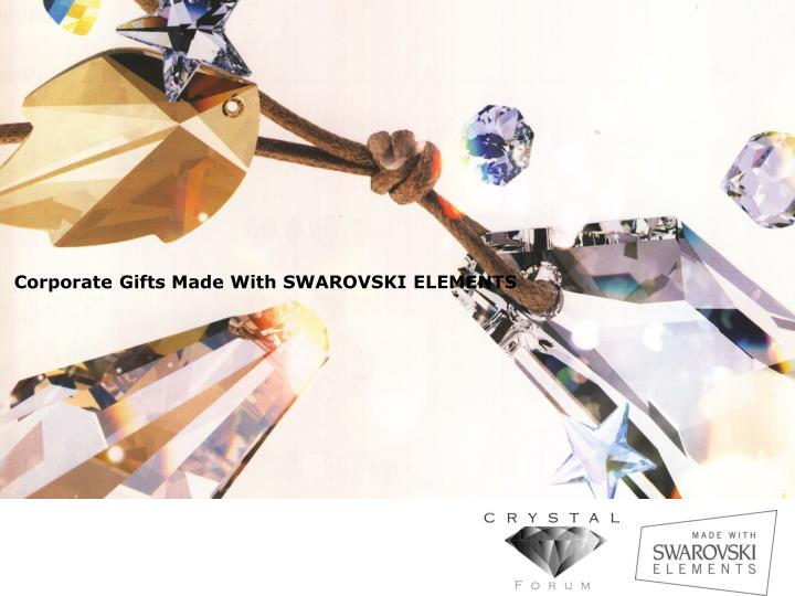 corporate gifts made with swarovski elements n.