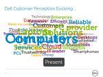 dell customer perception evolving