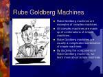 rube goldberg machines