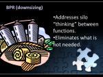 bpr downsizing