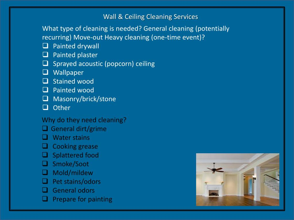 PPT - H O M E CLEANING PowerPoint Presentation - ID:1652827