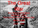 the great war the war to end all wars world war i 1920 the first half of the thirty years war