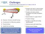challenges providers have much to think about as it relates to icd 10