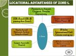 locational advantages of zone l