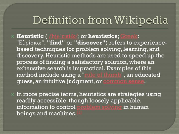 Definition from Wikipedia