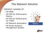 the network solution