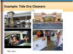 example tide dry cleaners