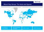 about hay group the facts and figures