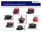 the hr internal consultant hats