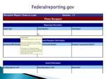 federalreporting gov