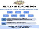 health in europe 2020