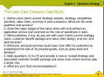 the lawn care company case study