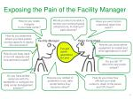 exposing the pain of the facility manager