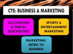 cte business marketing