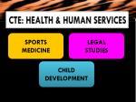 cte health human services