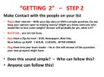 getting 2 step 2