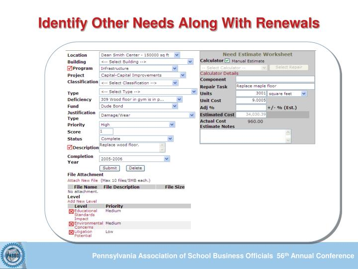 Identify Other Needs Along With Renewals