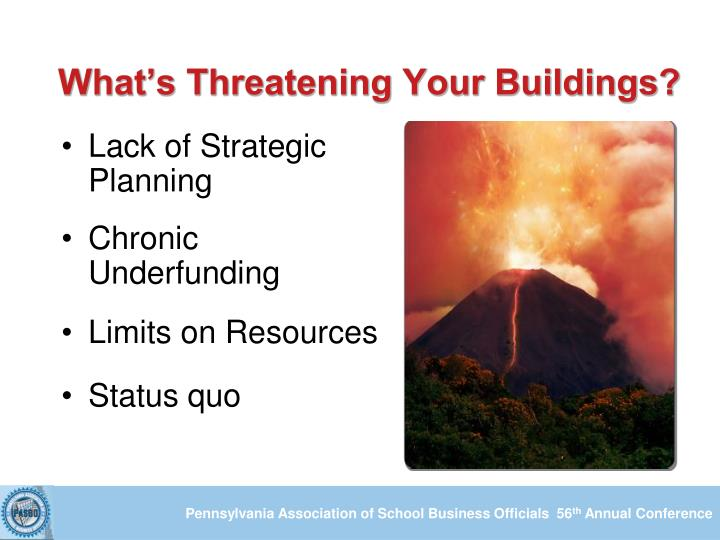 What's Threatening Your Buildings?