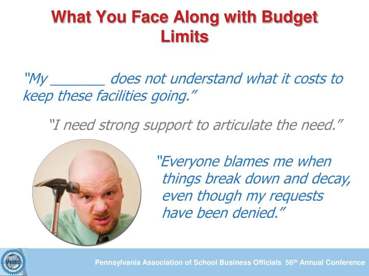 What You Face Along with Budget Limits