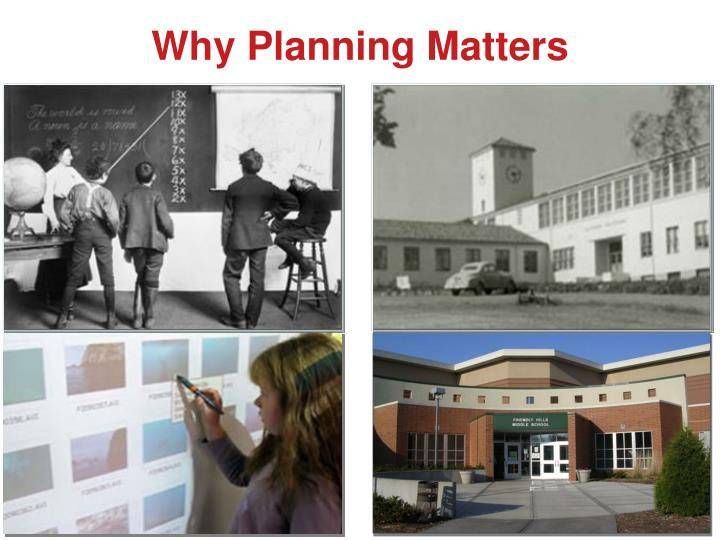 Why Planning Matters